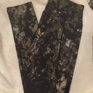 Brand new shimmer Victoria secret leggings